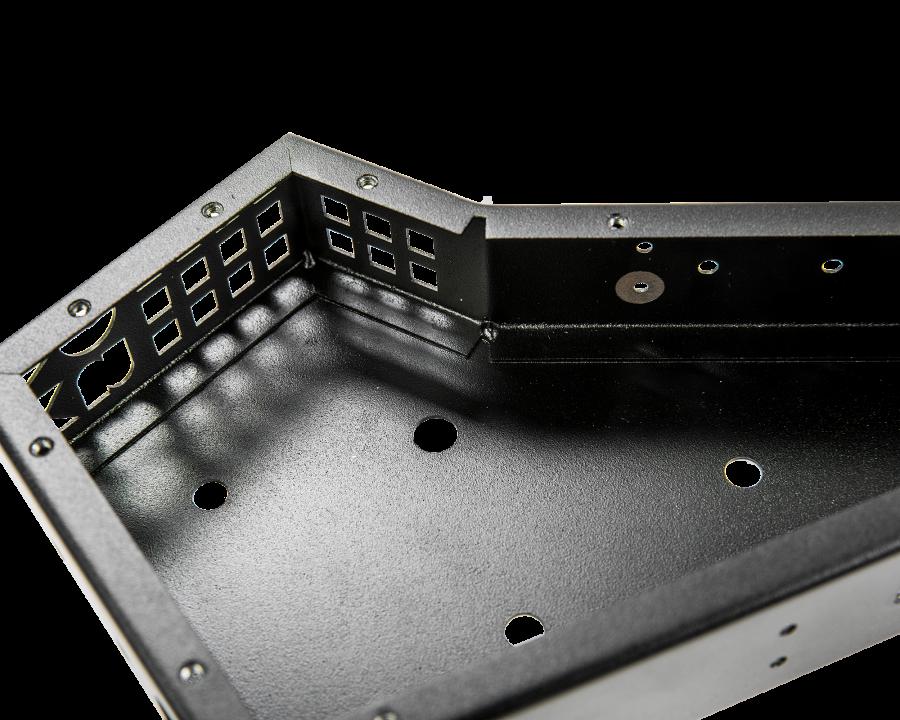 Корпус гибридного синтезатора без крышки